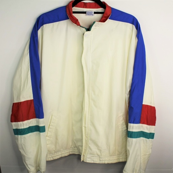 Fred Perry Other - VTG Fred Perry Colorblock Spell Out Windbreaker